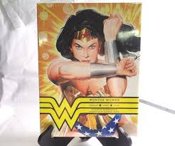 NEW 2015 Hardcover Wonder Woman Amazon Hero Icon By Robert Greenberger