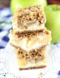 Gingersnap Pumpkin Pie Cheesecake by Caramel Apple Cheesecake Streusel Bars With Gingersnap Walnut Crust