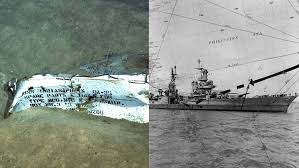 uss indianapolis has been discovered in the philippine sea