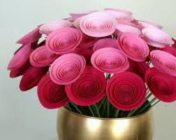 Craft Paper Flowers Roses Best Cool Ideas