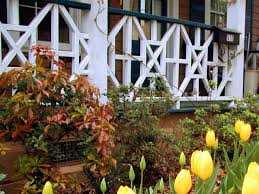 How To Install A Porch Railing   HGTV 24m Decking Handrail Nationwide Delivery 25 Best Powder Coated Metal Fencing Images On Pinterest Wrought Iron Handrails How High Is A Bar Top The Best Bars With View Time Out Sky Awesome Cantilevered Deck And Nautical Railing House Home Interior Stair Railing Or Other Kitchen Modern Garden Ideas Deck Design To Get The Railings Archives Page 6 Of 7 East Coast Fence Exterior Products I Love Balcony Viva Selfwatering Planter Attractive Home Which Designs By Fencesus Also Face Mount Balcony Alinum Railings 4 Cityscape