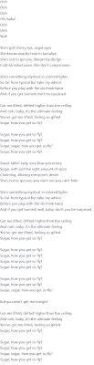 robin schulz sugar lyrics official video