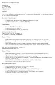 Resume For Manufacturing Jobs Templates Film Template Word Production Assistant