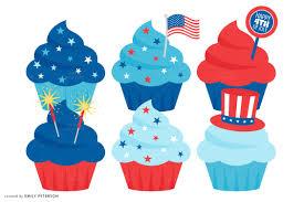Cake clipart patriotic 4