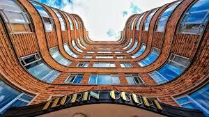 modern apartment building deco style florin court