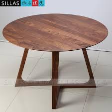 table ronde bureau mobilier en noyer solide manger en bois de table 1 2 m table ronde