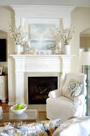 Primitive Decorating Ideas For Fireplace by Best 25 Mantles Ideas Only On Pinterest Mantle Mantels And