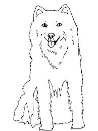 Husky Coloring Pages Dog Picture Page Free Printable