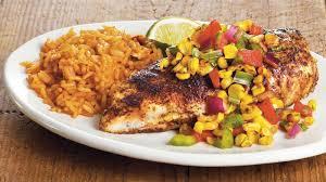 cuisine tex mex tex mex chicken with corn salsa recipe bettycrocker com