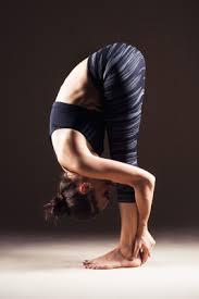 Yoga Poses Standing Forward Bend II Uttanasana