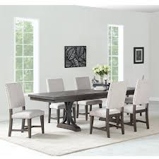 Hinreisend Glass And Wood Dining Room Sets Solid Reclaimed Protector
