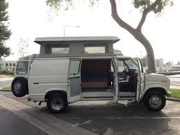 1991 Ford E250 Econoline Sportsmobile Penthouse Pop Top Conversion Camper Van CA US 595000
