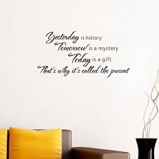 it is called present quote wall decals vinyl stickers