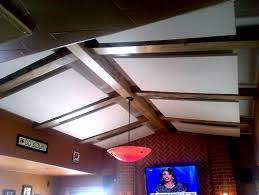 Soundproof Above Drop Ceiling by Ceiling Clouds Are Sound Panels That Mechanically
