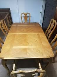 Image Is Loading Thomasville Dining Room Set Table 6 Chairs 2