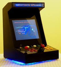 Mame Arcade Bartop Cabinet Plans by Diy Arcade Machine Preview