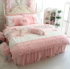 Lush Decor Serena Bedskirt by Amazon Com Fadfay Cute Girls Short Plush Bedding Set Romantic