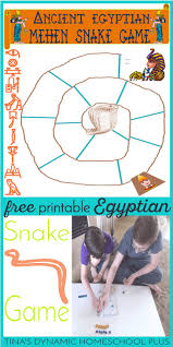 Free Ancient Egypt Mehen Printable Game Hands On History