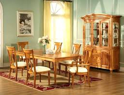 Excellent Ideas Oak Dining Room Sets With Hutch Table Set Amazing Kitchen Tables Antique Large Version In