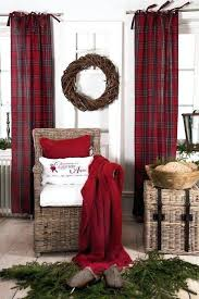 Kitchen Curtains Walmart Canada by Red Plaid Curtains U2013 Teawing Co