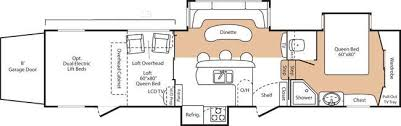 2008 Montana 5th Wheel Floor Plans by 2008 Keystone Fuzion 393 Fifth Wheel Southaven Ms Southaven Rv