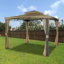 Hampton Bay Patio Umbrella Replacement Canopy by Hampton Bay Gazebo Replacement Canopy And Netting Garden Winds