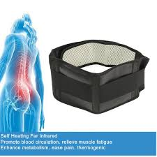 s m l self heating infrared magnetic therapy tourmaline back