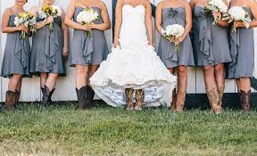 Rustic Yellow Gray Kentucky Farm Wedding