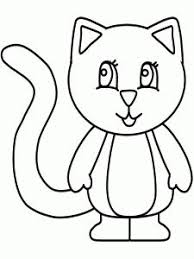 Kitten Coloring Pages For Kids This Section Has A Lot Of Toddler Children Preschoolers And All Students
