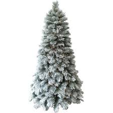 Pre Lit Flocked Artificial Christmas Trees by Christmas Holiday Time Artificial Christmas Trees Pre Lit