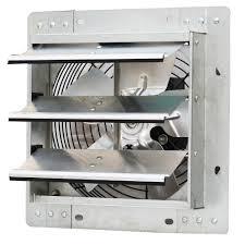 Home Depot Bathroom Exhaust Fan by Iliving 600 Cfm Power 10 In Variable Speed Shutter Exhaust Fan