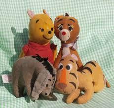 Sears Canada Pre Lit Christmas Trees by Sears Vintage Winnie The Pooh Eeyore Tigger Rabbit Sawdust Plush