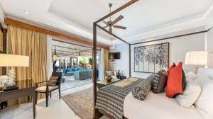 Villa Chi Samui At Lotus Samui Master Bedroom Villa Chi Samui In Po Koh Samui 5 Bedrooms