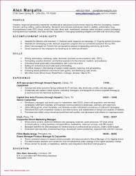 Production Supervisor Resume Examples Format Best Of Inspirational 51 Lovely