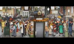 Coit Tower Murals Controversy by New Deal Murals Humanities