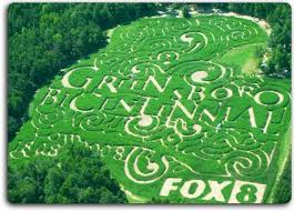 Corn Maze Pumpkin Patch Winston Salem Nc by Corn Maze In High Point North Carolina Kersey Valley Maize