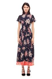 phlox floral midi dress rebecca taylor