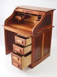 bureau top office small oak roll top desk bureau antiques atlas