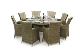 Maze Rattan Tuscany LA 8 Seat Round Dining Set | Maze Living Pub Ding Table 2 Person Bar Bistro Table And Chairs Tall Room Sets Suites Fniture Collections Round Counter Height Seats 8 New Begning Home Designs Kitchen Ashley Homestore Exquisite Gardner White At Set Crown Mark Empire Chair With Industrial Swingout Vintage Costway Patio Seat Wood Pnictable Beer Maze Living Astounding Style 3 Piece Style Garden Benchtable Round Seat In Tooting