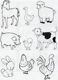 Dibujos Animados De Animales Salvajes Ilustración Para Los Niños