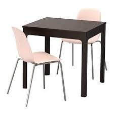 EKEDALEN LEIFARNE Table And 2 Chairs