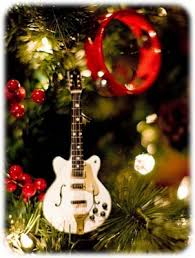 Rock Around The Christmas Tree With These Wooden Mini Guitars Ornaments Here Is A Wonderful Gift To Offer During Holidays