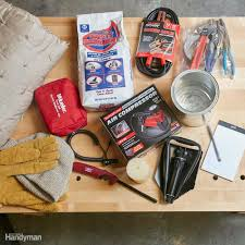 13 Things You Need In Your Winter Car Survival Kit | The Family Handyman Making Your Own Jeep Survival Kit Truck Camper Adventure Next Level Travel Packing Junk In Trunk Emergency Pparedness Veridian Cnections Spill Kits Fork Lift Ese Direct 1 16 Led Whitered Car Warning Strobe Lights First Aid From Parrs Workplace Equipment Experts Slime Safety Spair Roadside 213842 Vehicle Amazoncom Thrive Assistance Auto Cheap Find Deals On Line At Edwards And Cromwell Chlorine Cylinder Tank Repair 14pcs Emergency Rescue Bag Automobile Tire Pssure