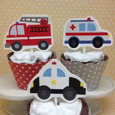 Emergency Vehicles Ambulances Police Cars Fire Trucks Party | Etsy Fire Engine Cupcake Toppers Fire Truck Cupcake Set Of 12 In 2018 Products Pinterest Emma Rameys Firetruck 3rd Birthday Party Lamberts Lately Fireman Firehouse Etsy Monster Cake Ideas Edible With Free Printables How To Nest For Less Refighter Boy Truck Topper Image Rebecca Cakes Bakes Pin By Diana Olivas On Diana Cupcakes Fondant Red Yellow Rad Hostess The Mommyapolis