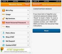 Manual How to Reset Voicemail Password on iPhone AT & T or