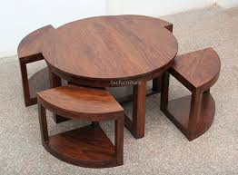 Space Saving Dining Table Set Furniture Room With