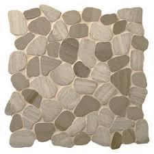 Menards Mosaic Glass Tile by Mohawk Elegenza Pebble 12 X 12 Stone Mosaic Tile At Menards