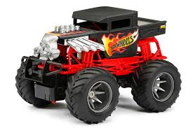 100 Monster Truck Rc New Bright RC 124 Scale Hot Wheels Bone Shaker