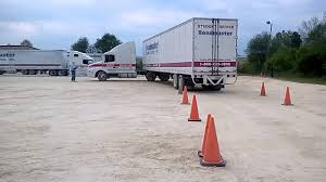 100 Area Truck Driving School Roadmaster Backing A Truck YouTube