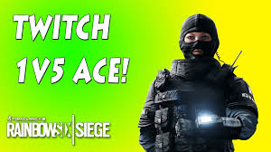macdonald siege twitch 1v5 clutch ace rainbow six siege